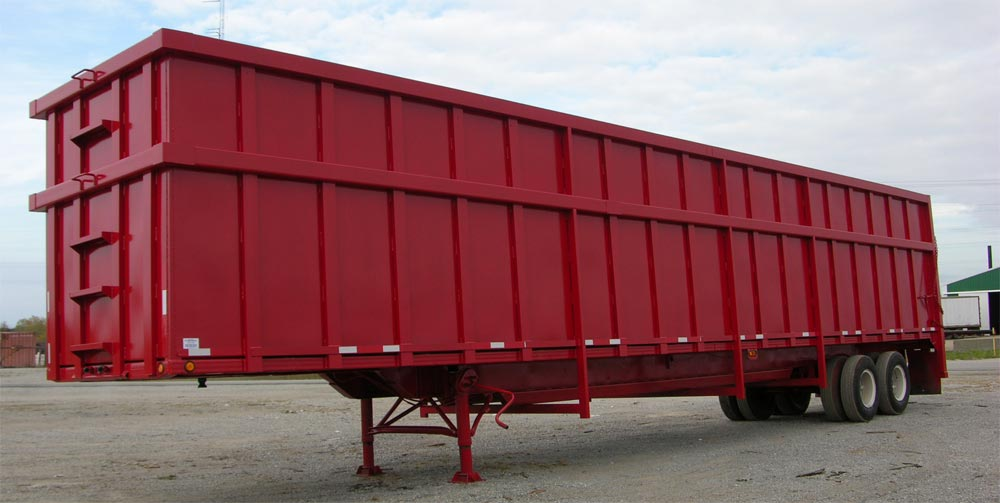 Open Top Scrap Trailers http://cifindustriesinc.com/