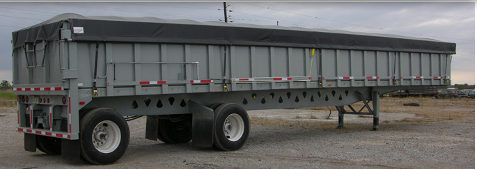 new gondola trailer, gondola hauler, gondola trailer manufacturer, lightweight open top trailer, scrap gondola trailer, open top trailer, fabrication